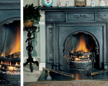 Камин Stovax William IV Cast Iron Mantel (чугунный портал)